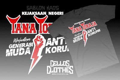 Produksi Sablon Kaos Tana Toraja : Sosialisasi dengan Media Kaos