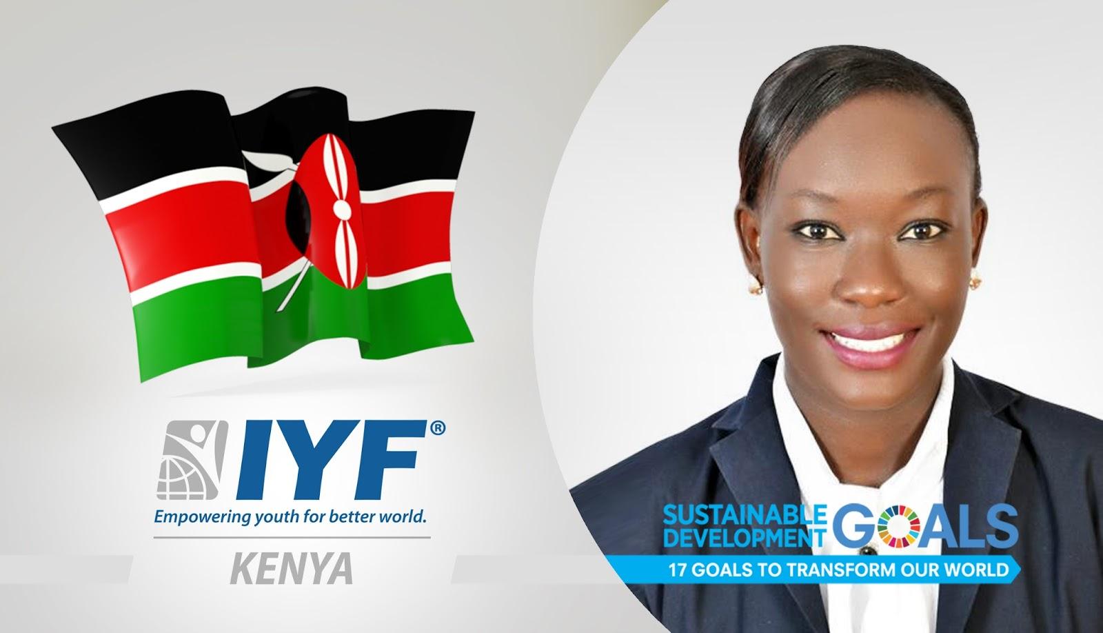 Valerie Opiyo, IYF Representative in Kenya