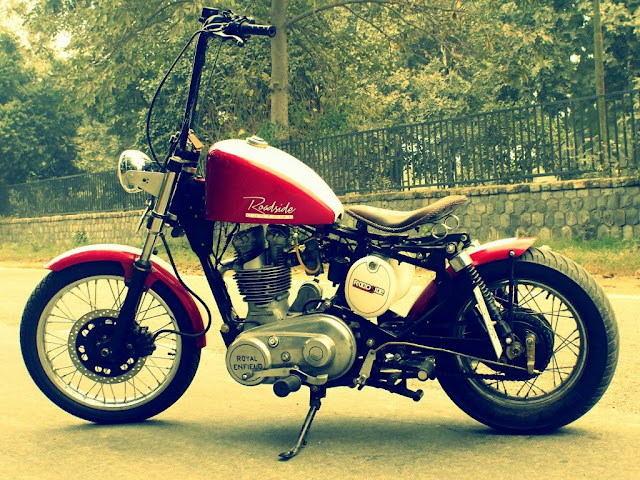 royal enfield thunderbird beast chopper