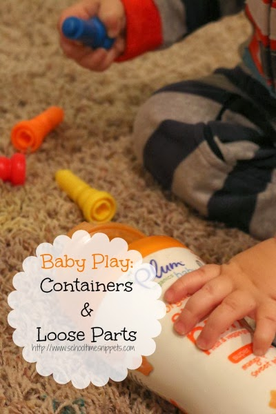 simple baby play idea for 1 year old