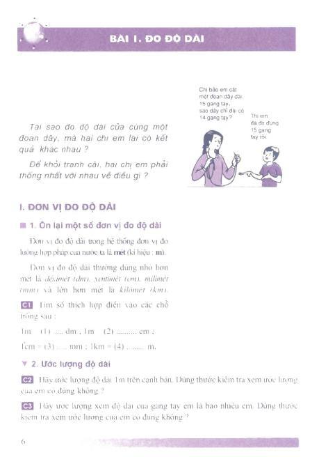 Trang 7 sach Sách Giáo Khoa Vật Lí Lớp 6