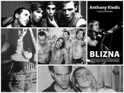 Blizna aut. Anthony Kiedis & Larry Sloman Red Hot Chilli Peppers Biografia Książka  Book RHCP ROCK FUNK MUSIC MUZYKA