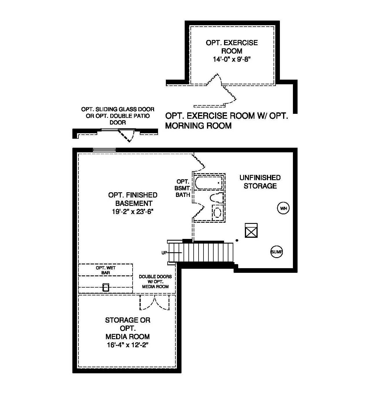 Ryan Homes Milan New Home Construction Experience Basement Plans – Ryan Homes Venice Floor Plan
