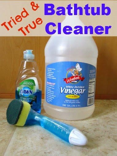 http://www.thissimplehome.com/2013/05/bathtub-cleaner-dawn-and-vinegar-success.html