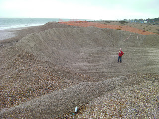 shingle beach on southsea seafront