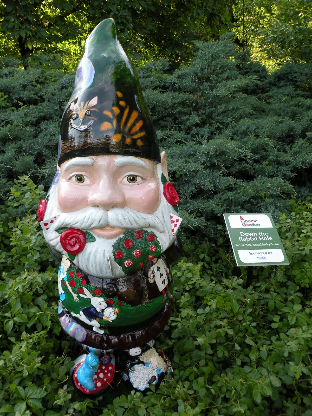 Gnome In Garden: Busylittleelf: Holden Arboretum's Gnome And Garden Gnome