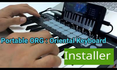Portable ORG : Oriental Keyboard تحميل اورج 2017