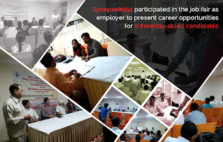 SynapseIndia participated in job fair for differently abled candidates