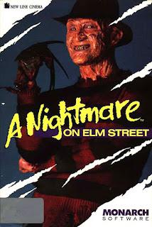 Videojuego Pesadilla en Elm Street