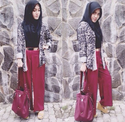 Fashion Hijab Untuk Orang Pendek 1