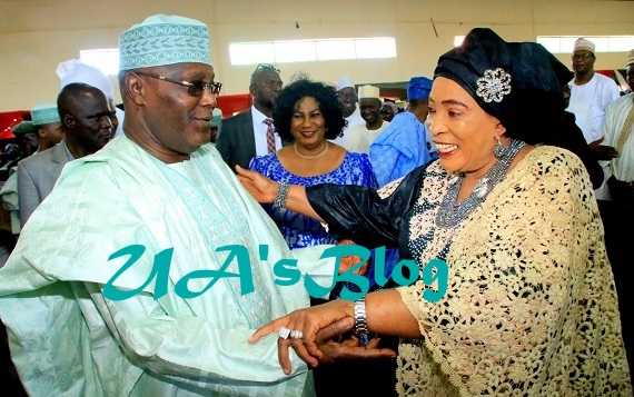Atiku is not a thief, will never steal from Nigeria - Titi Abubakar