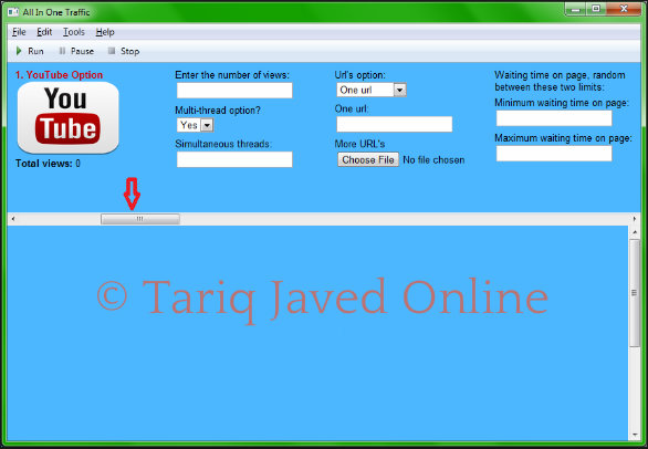Download All in One Traffic Bot Free ~ Tariq Javed Online