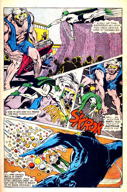 Spectre v1 #5 dc 1960s silver age comic book page art by Neal Adams