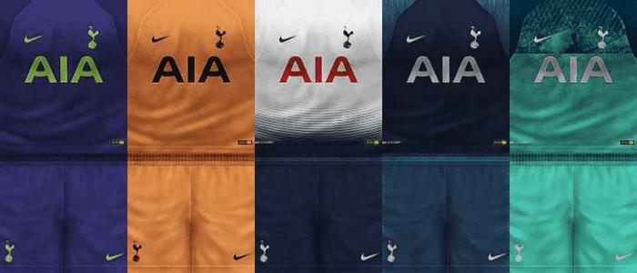 the latest bcce3 f6815 PES 6 Tottenham Hotspur 2018/19 Kits
