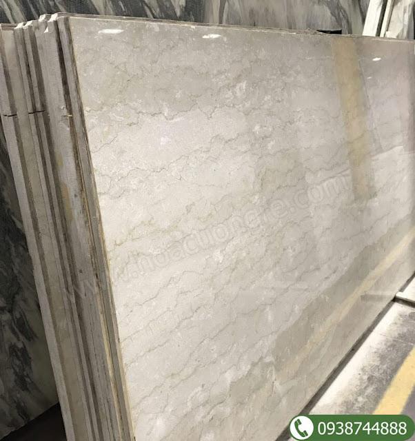 Đá marble kem Hy Lạp