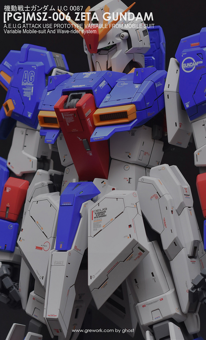 Custom Build: PG 1/60 MSZ-006 Zeta Gundam [Improved]