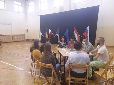 Meetings with student in Krasnystaw