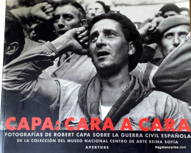 Robert Capa no Museu Reina Sofia, em Madri