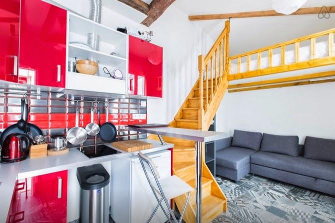 Apartamenty mieszkania Paryż polecane tanie do wynajęcia noclegi