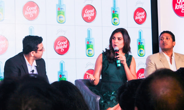 Godrej GoodKnight 100% Natural Fabric Roll-On Launch Press Meet Bloggers Meet