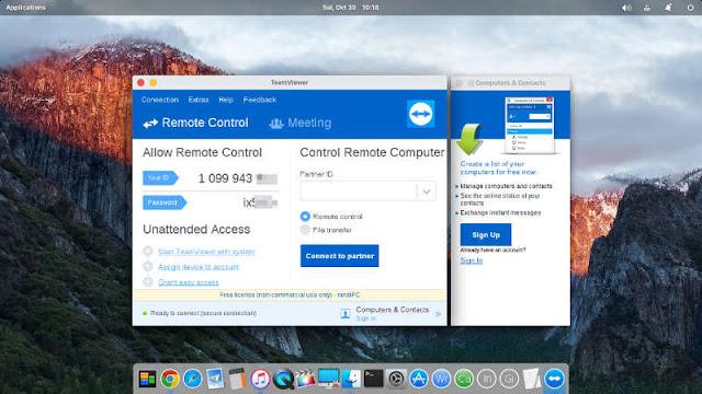 Cara Install TeamViewer di elementary OS, Ubuntu dan Linux Mint