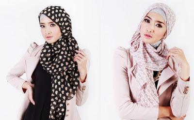 sekarang ini menjadi salah satu model hijab yang banyak sekali digunakan oleh para perempuan  10 Model Hijab Kantoran Simpel dan Mudah 2018