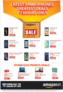 amazon 72 hours smart phone sale