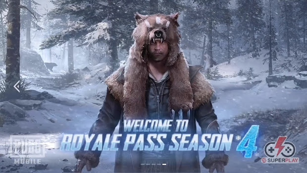 Pubg Mobile Season 4 Royale Pass - Year of Clean Water