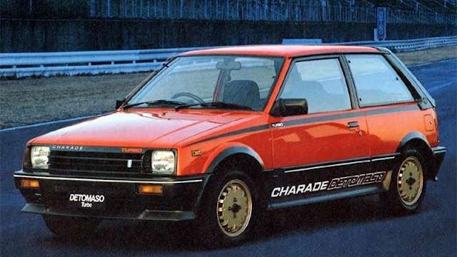 Daihatsu Charade de Tomaso Turbo