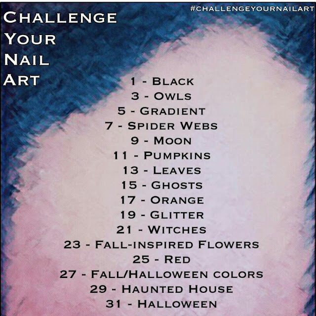 October Challenge Your Nail Art Prompt