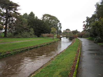 Jardín Otepuni. Invercargill, en Nueva Zelanda