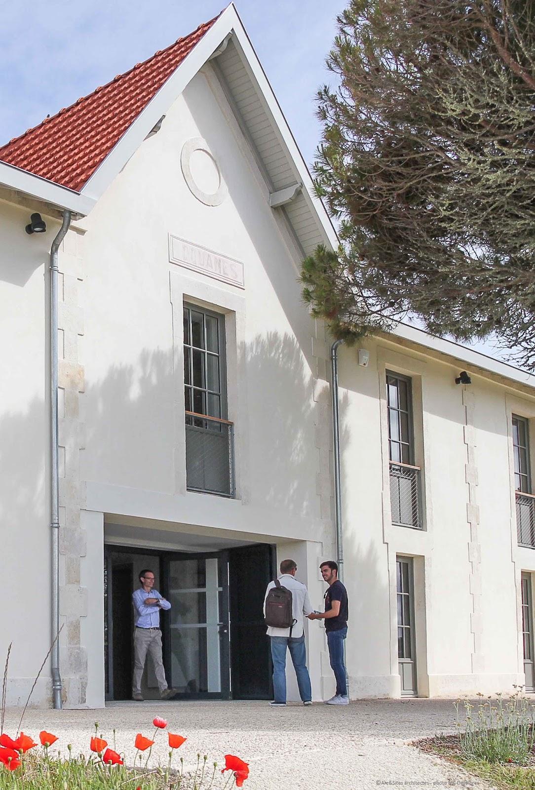 Arc sites architectes du patrimoine maison des douanes for Architecte du patrimoine