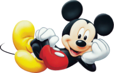 Personagem Mickey Mouse