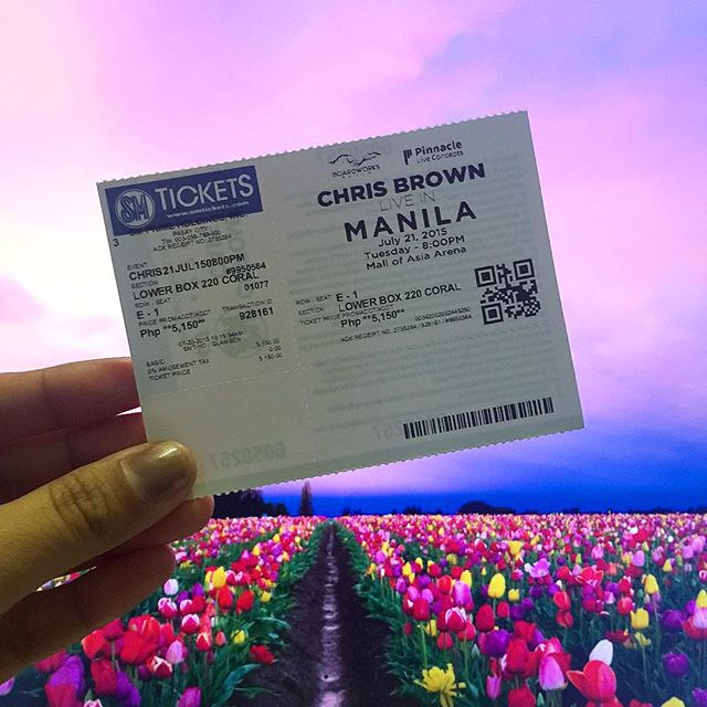 Chris Brown Live in Manila - July 21, 2015 at the Mall of Asia Arena