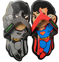 sandal lucu superman vs Batman