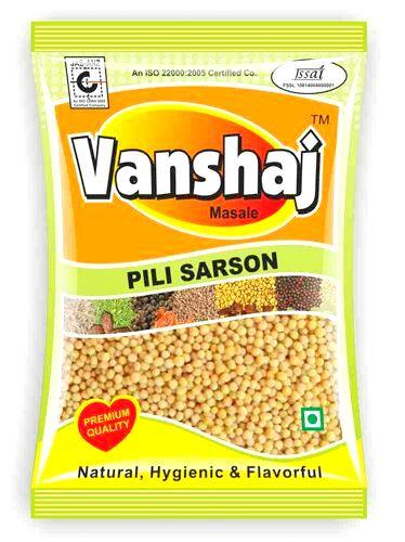 Yellow Mustard Seeds ( Pili Sarson )