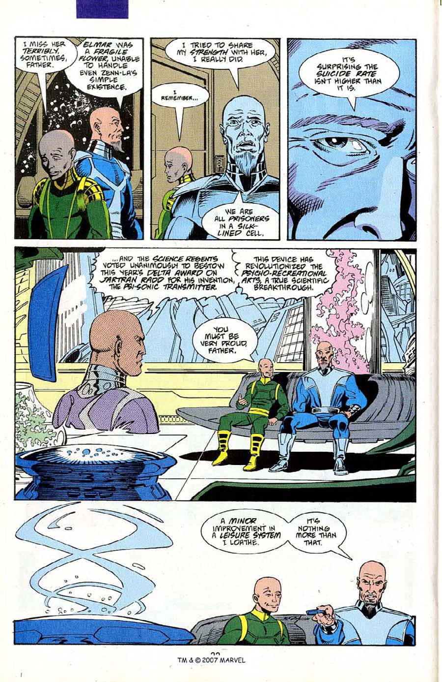 Read online Silver Surfer (1987) comic -  Issue #50 - 24