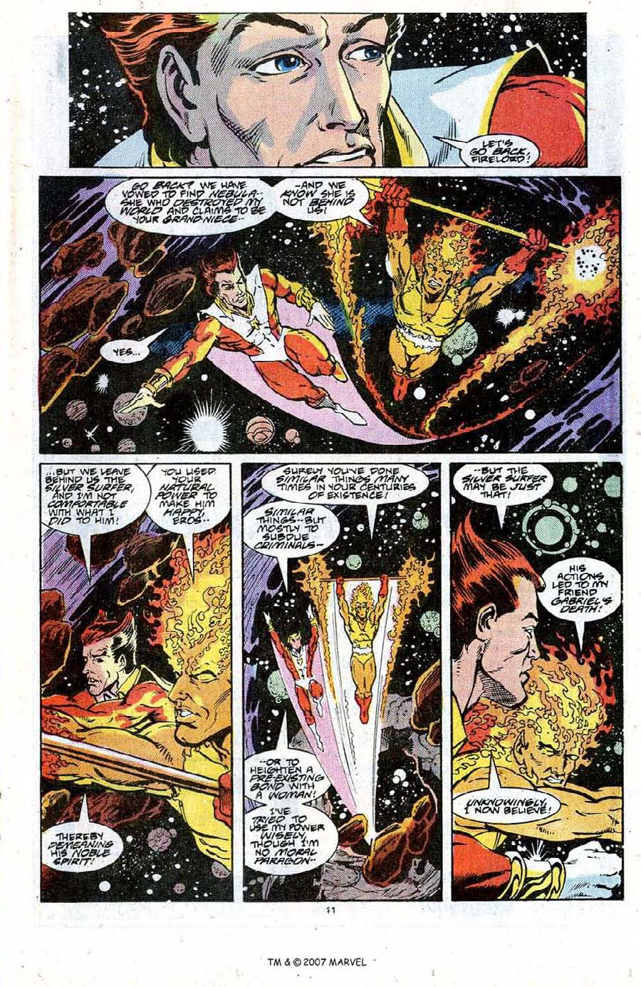 Read online Silver Surfer (1987) comic -  Issue #20 - 13