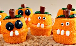 Halloween, Cup Cakes, Noche de Brujas