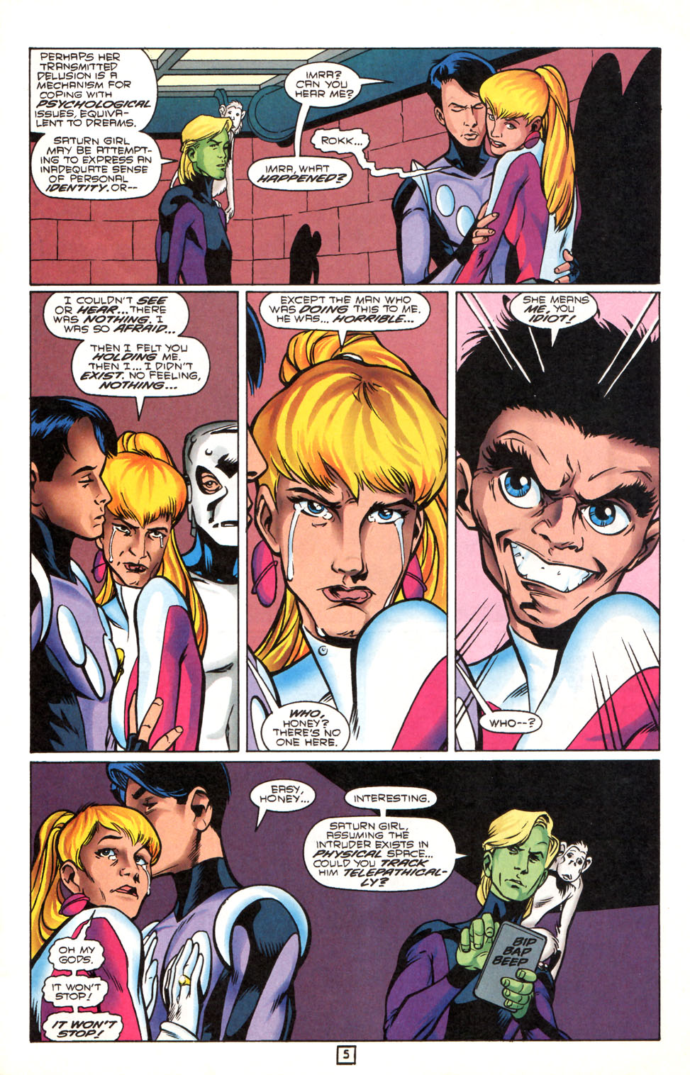 Legion of Super-Heroes (1989) 90 Page 5