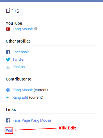 Halaman About Google Plus