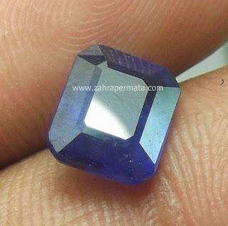 Batu Permata Blue Safir - ZP 415