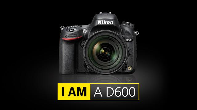 Banner della Nikon D600