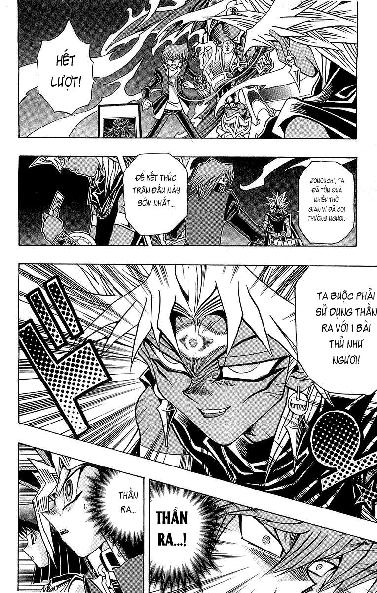 YUGI-OH! chap 248 - kỹ năng đặc biệt thứ 3 của thần ra trang 11