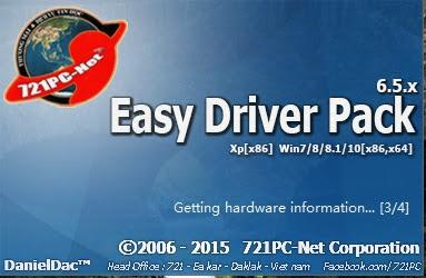 Download Easy Driver Pack, Driver Universal Untuk Semua Jenis Hardware dan Versi Windows