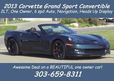 2013 Corvette Grand Sport at Purifoy Chevrolet