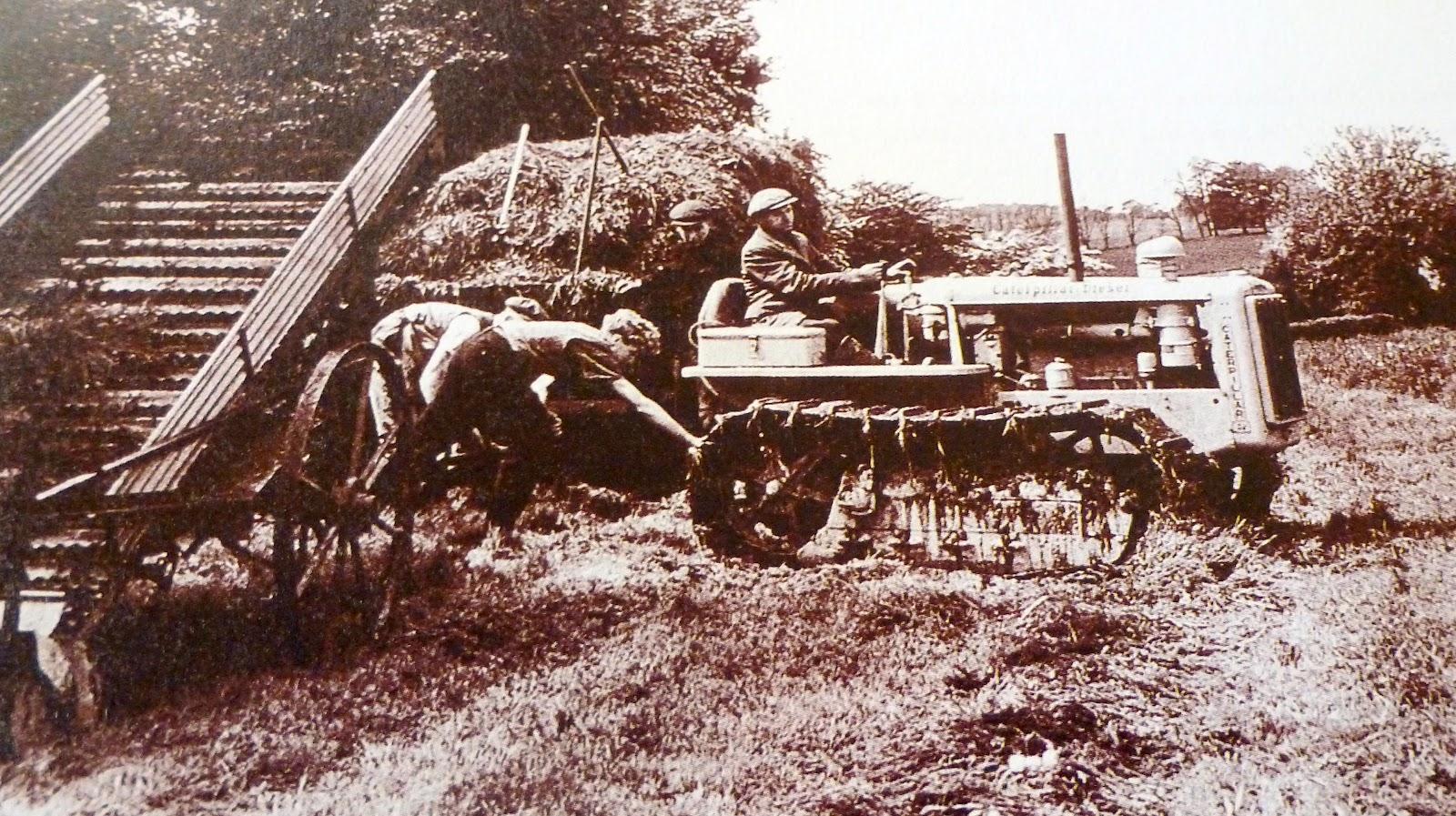 Imatges sobre rodes: BENACH. Tractor. 1927.