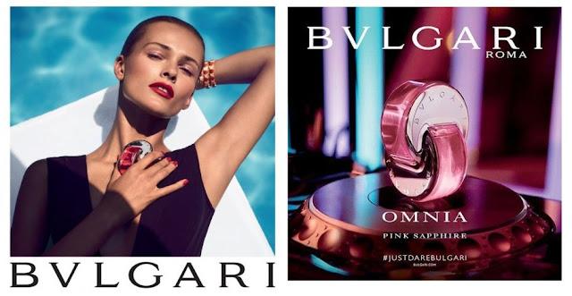 Oficjalne materiały reklamowe Bvlgari Pink Sapphire