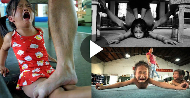 See How Children In China Are Trained For The Olympics, See Video!