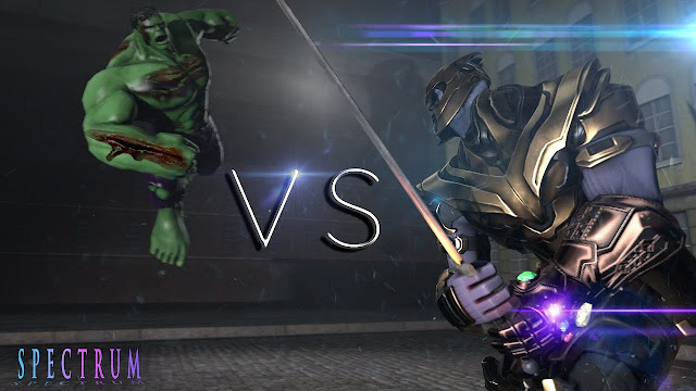 Hulk vs Thanos Rematch